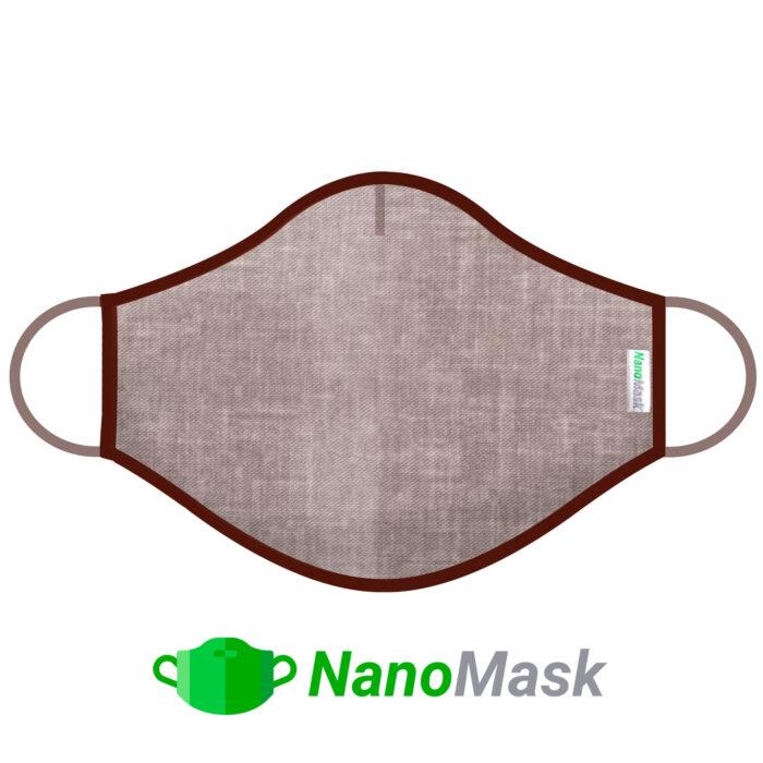 Mascarilla NanoMask Beige