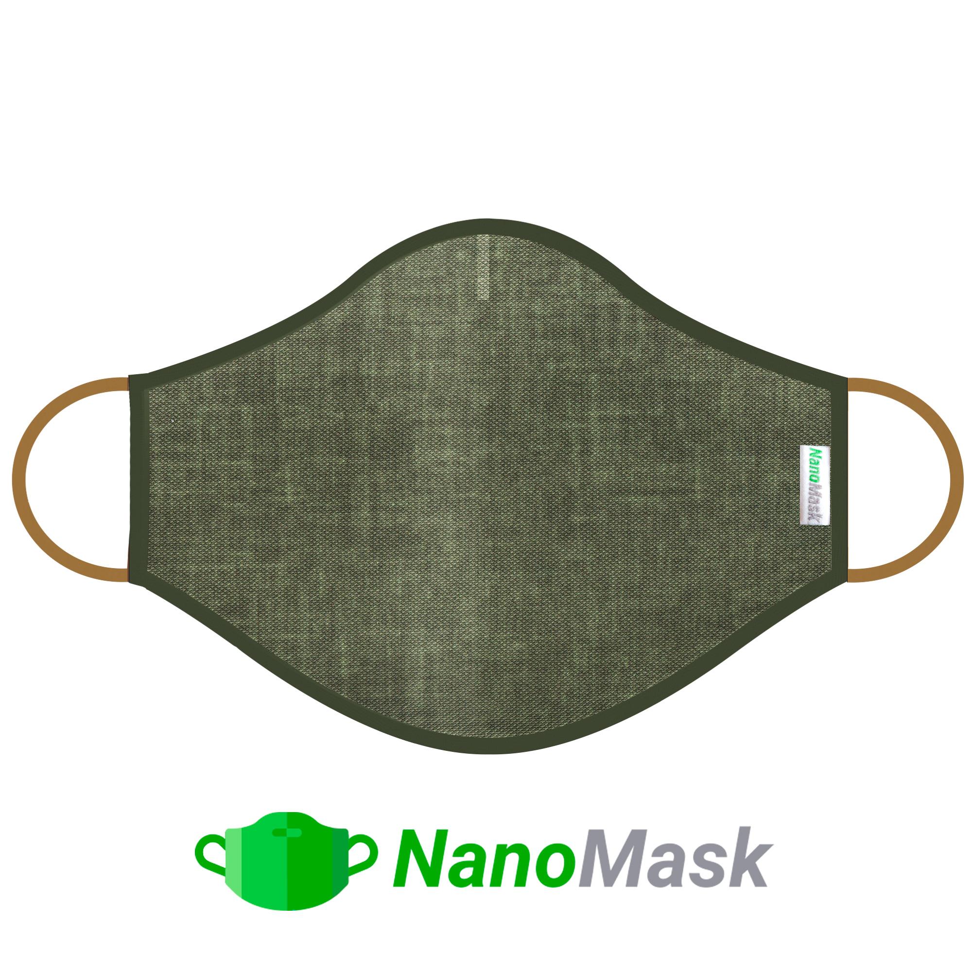 Mascarilla NanoMask Caqui