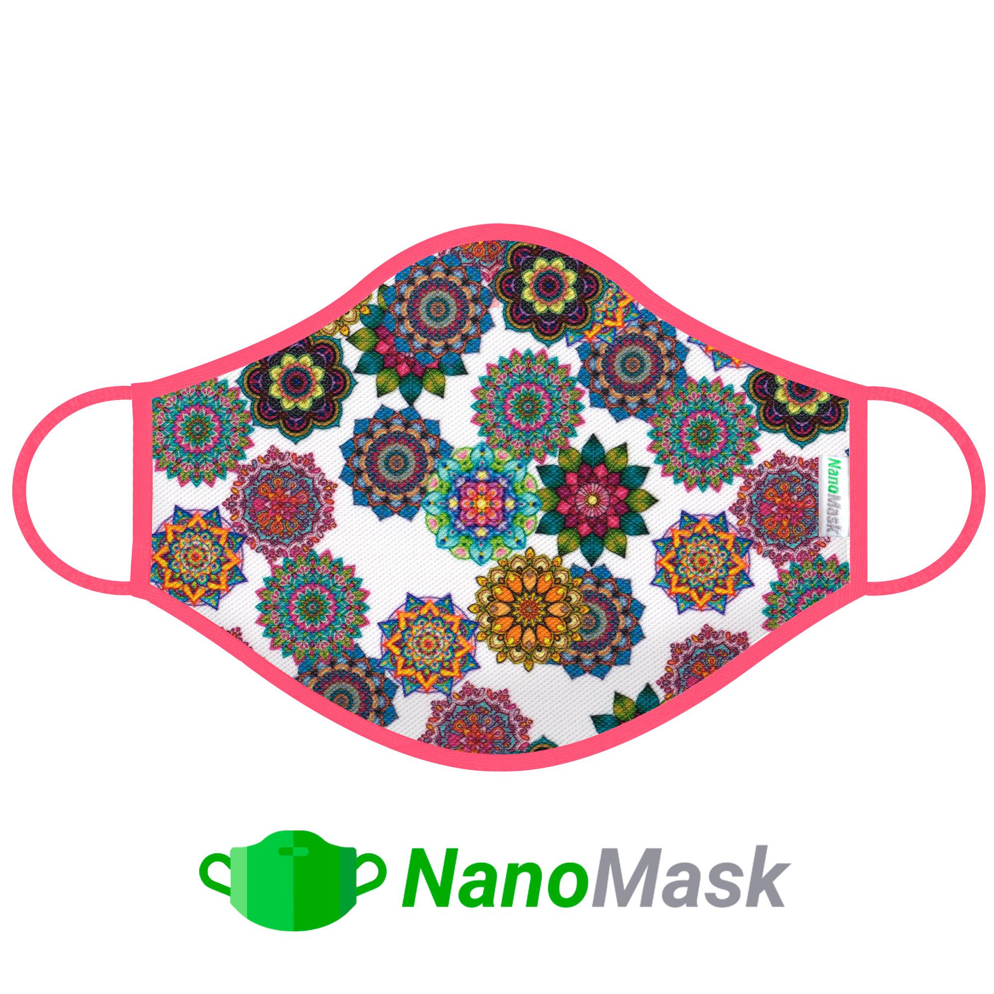 Mascarilla NanoMask Mandalas