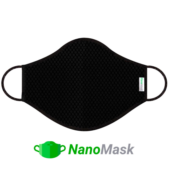 Mascarilla NanoMask Negra