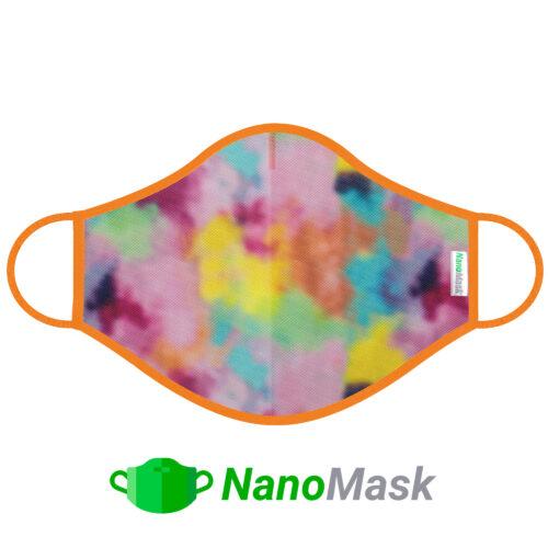 Mascarilla NanoMask Nubes de Colores