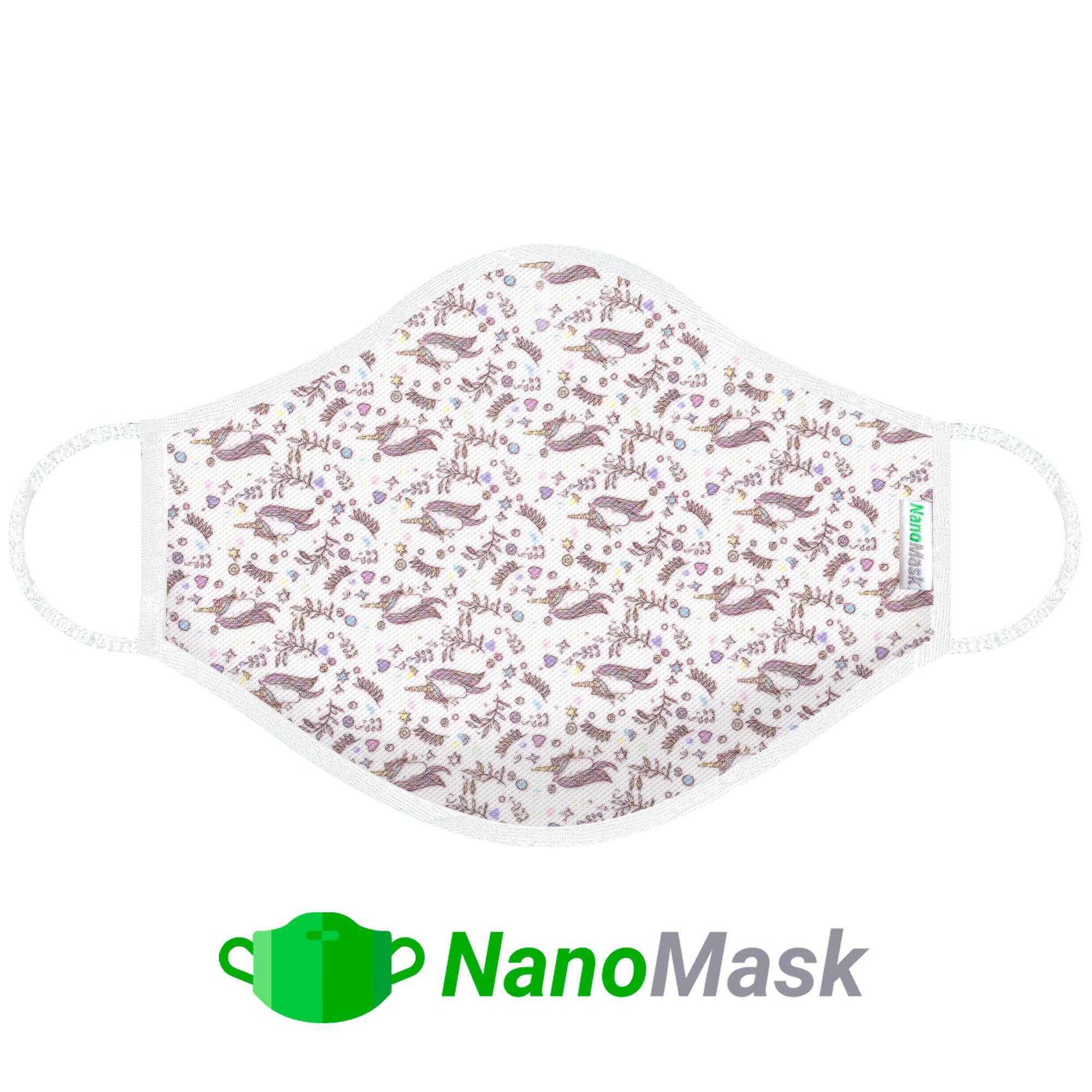 Mascarilla NanoMask Unicornios