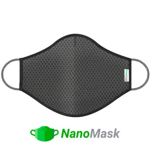 NanoMask Gray Grid Mask ( Size S )